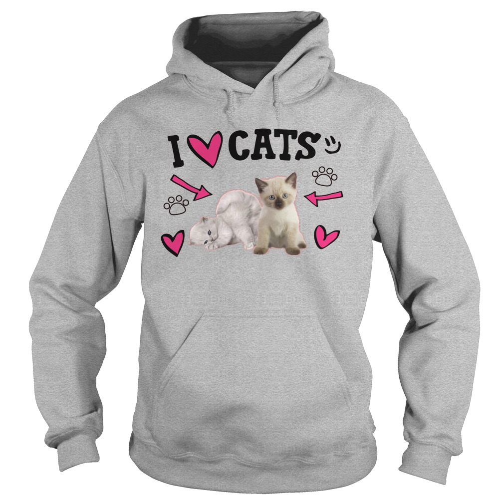 Official Love Cats Cute Hoodie