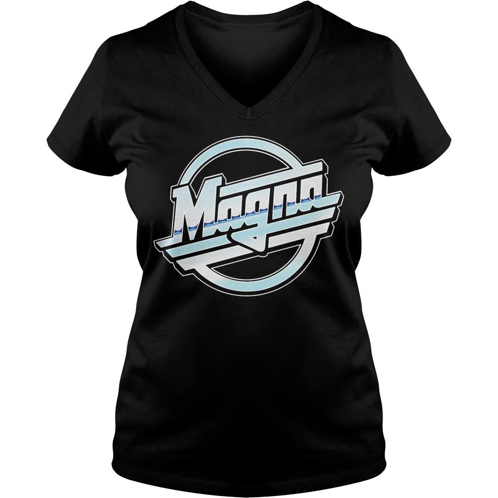 Official Magna V-neck t-shirt