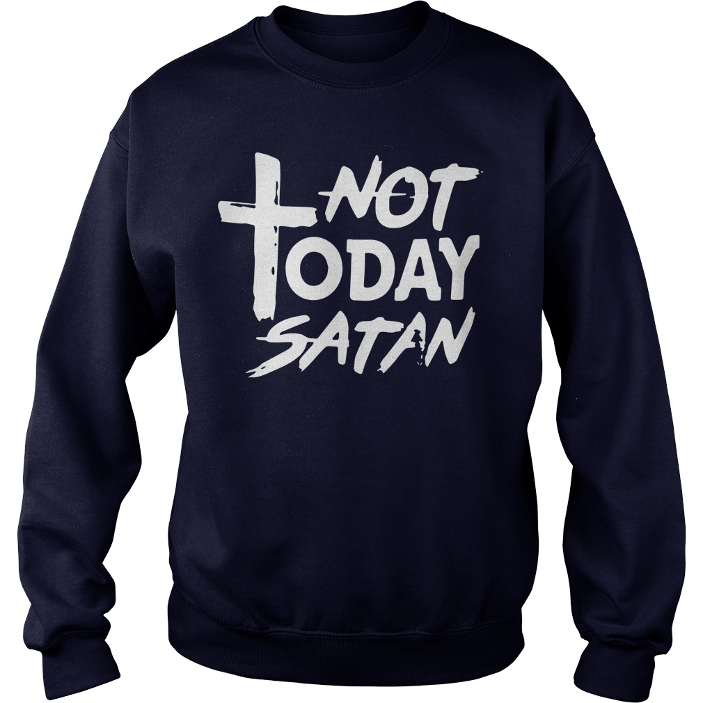 Official Not Today Satan Sweater
