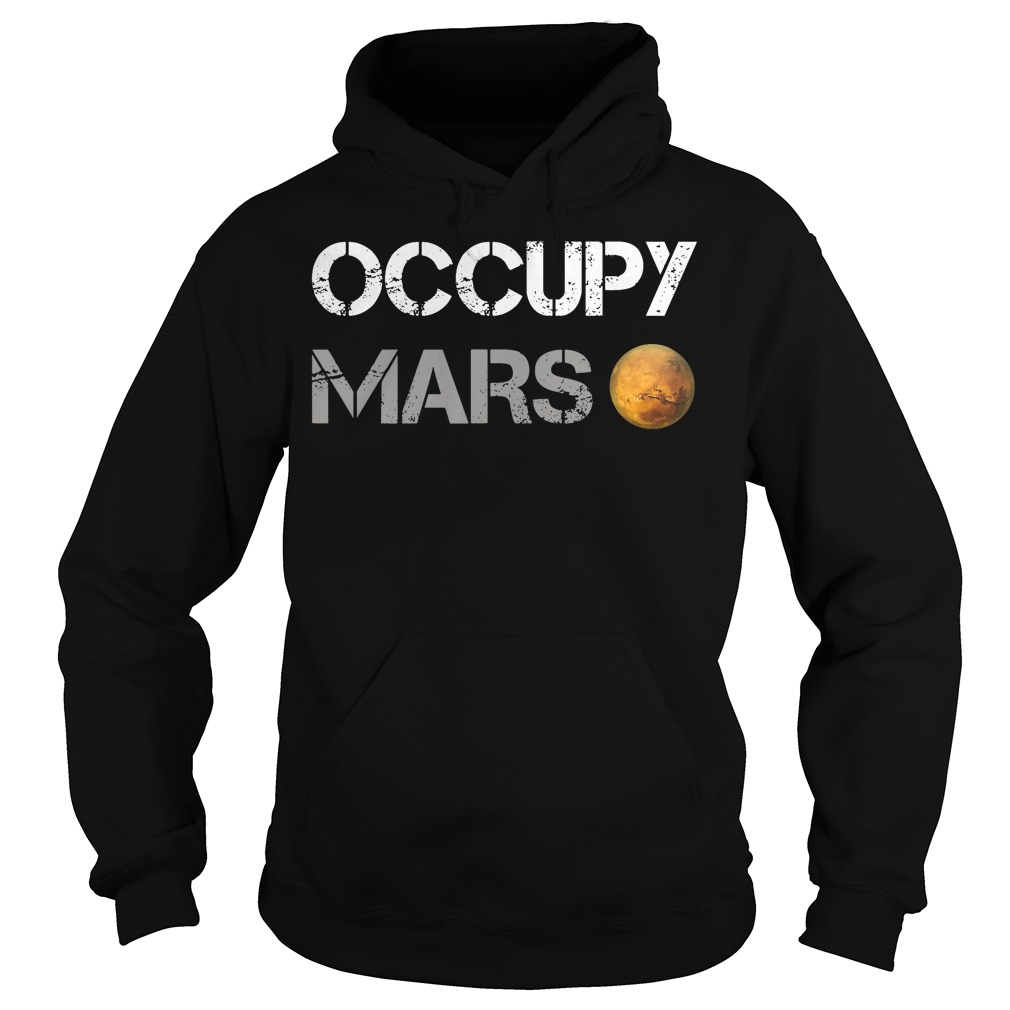 Official Occupy Mars Hoodie