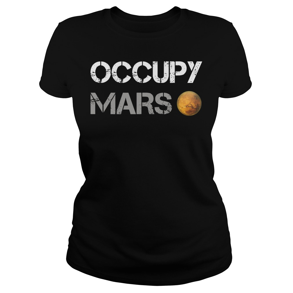 Official Occupy Mars Ladies Tee
