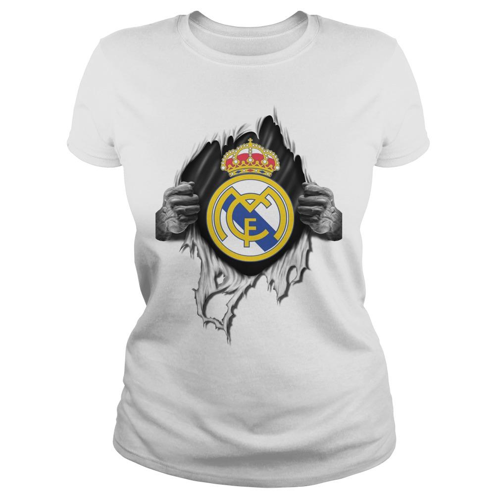 Official Real Madrid Ladies Tee