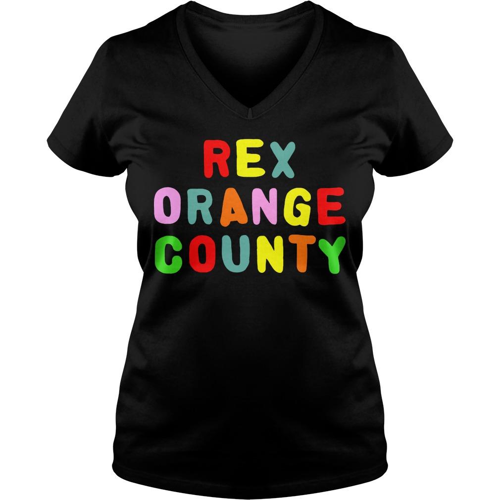 Official Rex Orange County V-neck t-shirt