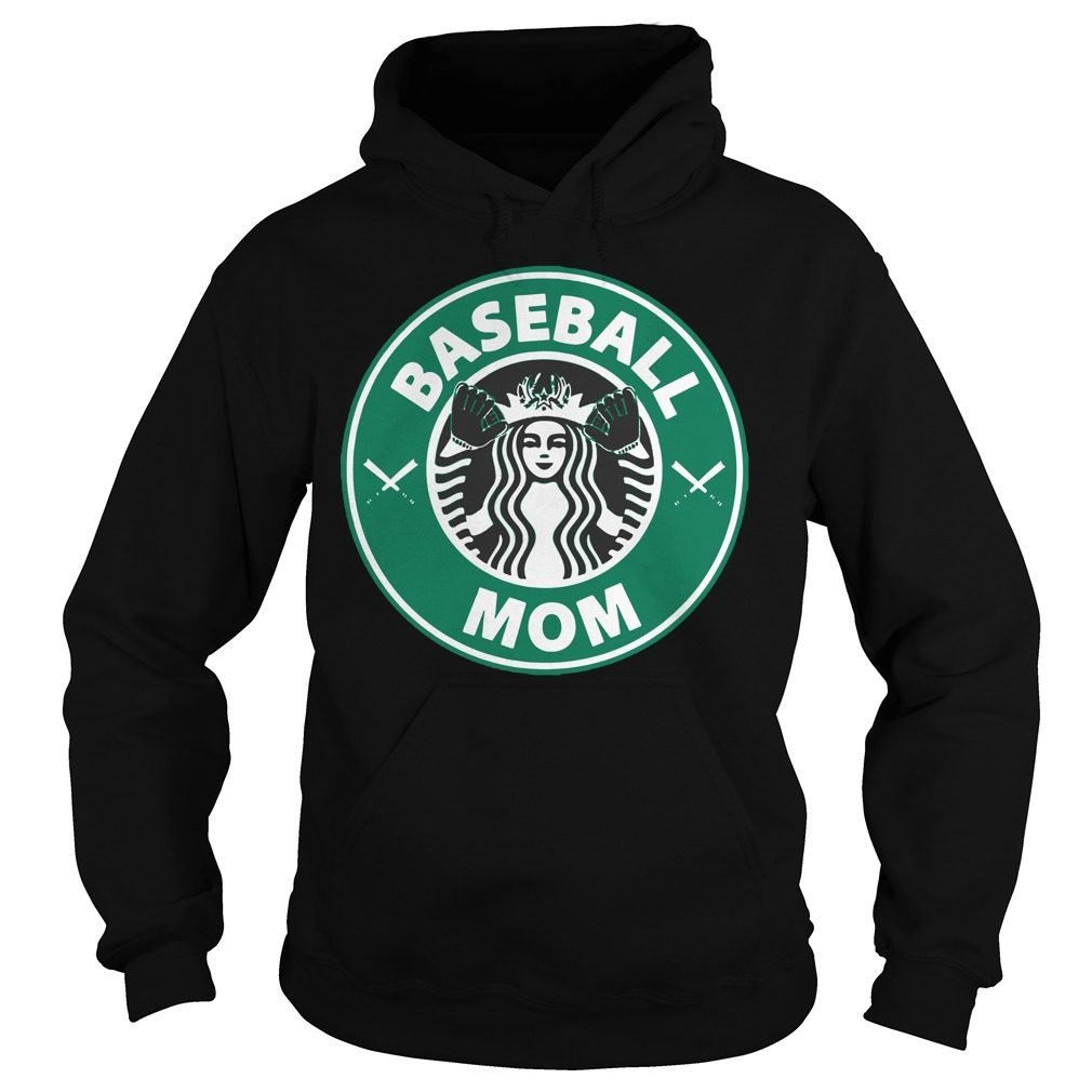 Official Starbucks Baseball Mom Hoodie