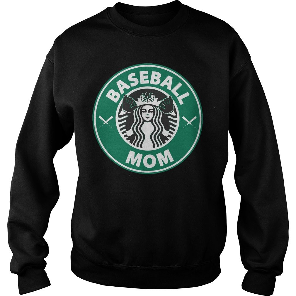 Official Starbucks Baseball Mom Sweater