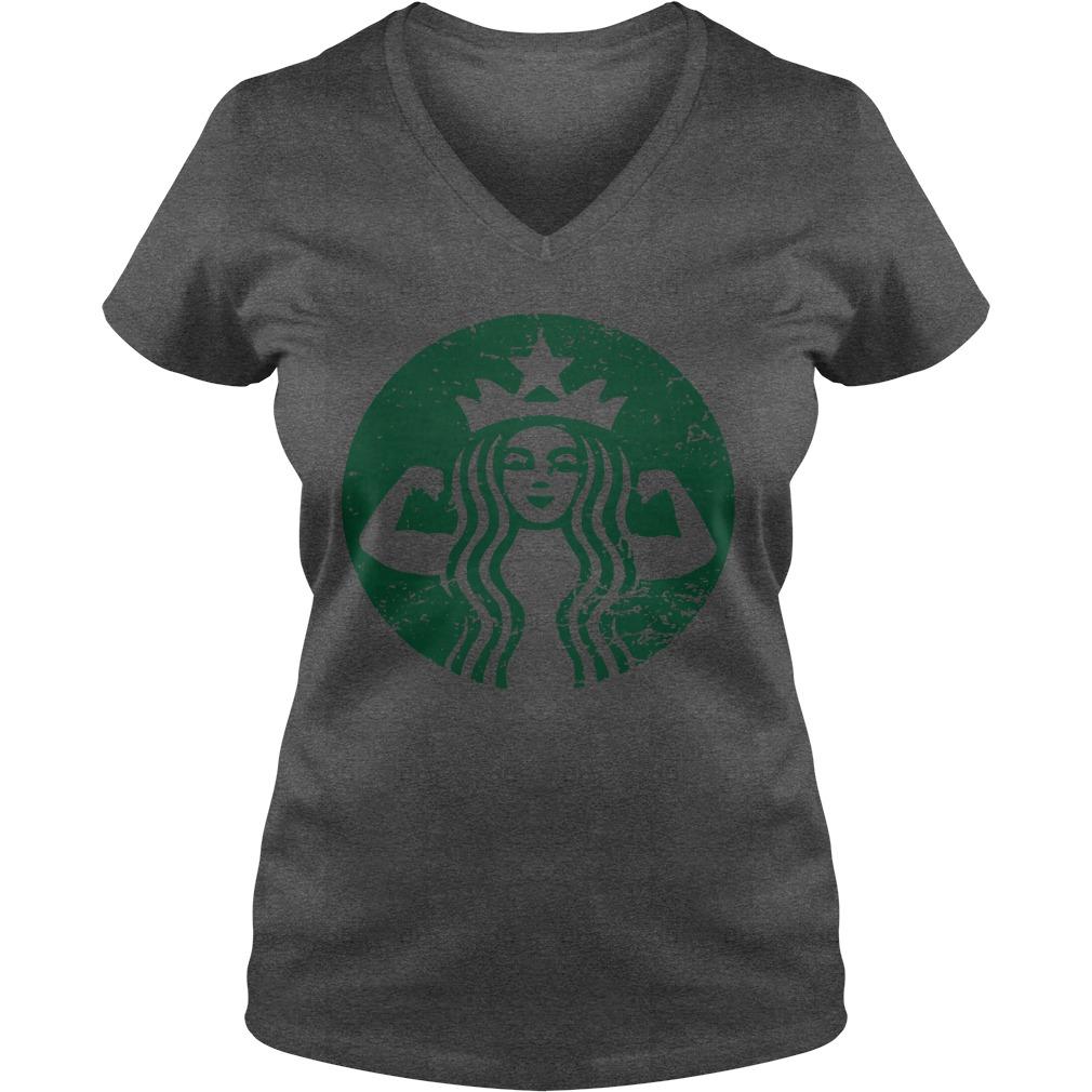 Official Starbucks V-neck t-shirt