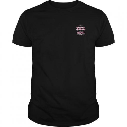 Official Sweet Hearts Call Nana Guys Shirt