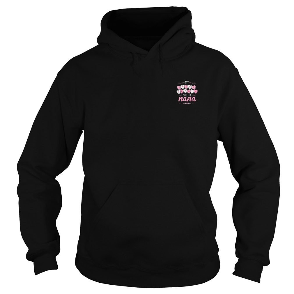 Official Sweet Hearts Call Nana Hoodie