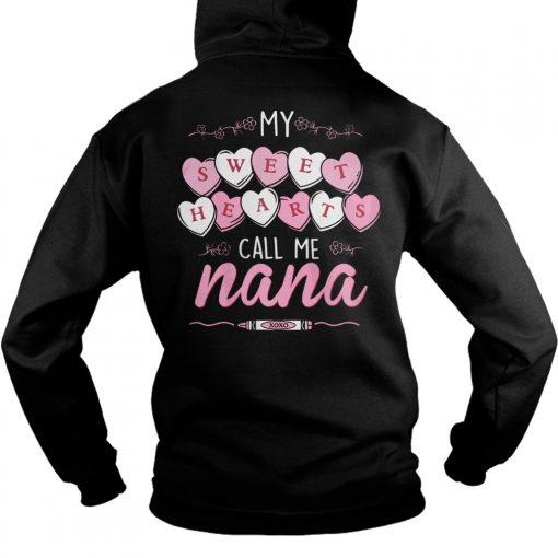Official Sweet Hearts Call Nana Hoodie1