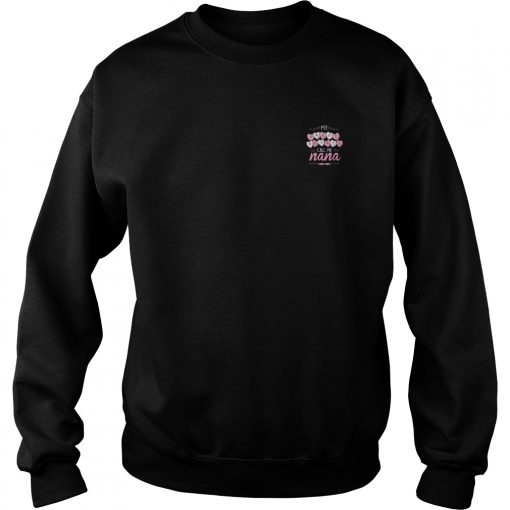 Official Sweet Hearts Call Nana Sweater