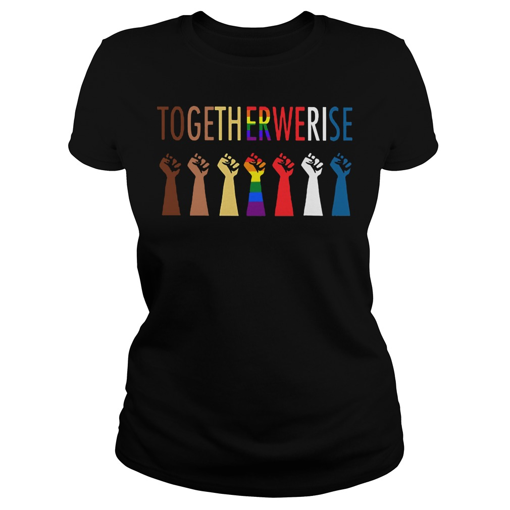Official Together Rise Ladies Tee