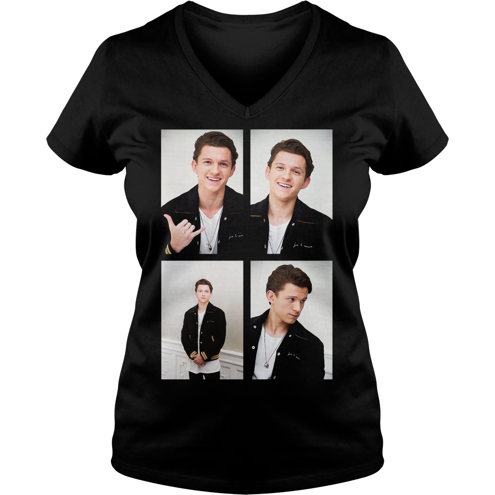 Official Tom Holland V Neck T Shirt