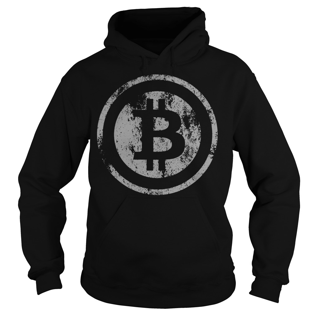 Official Vintage Bitcoin Logo Hoodie