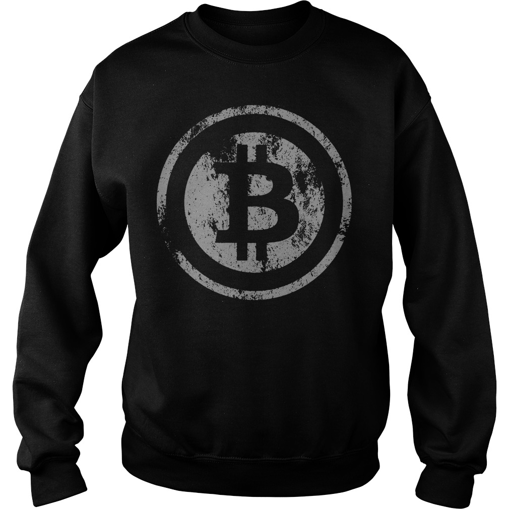 Official Vintage Bitcoin Logo Sweater