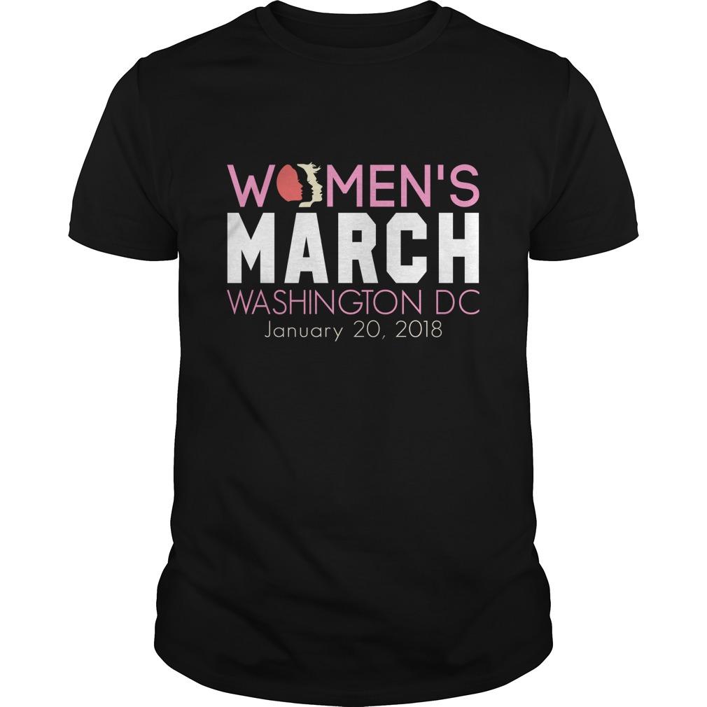 Official Womens March Washington Dc January 20 2018 Guys Shirt