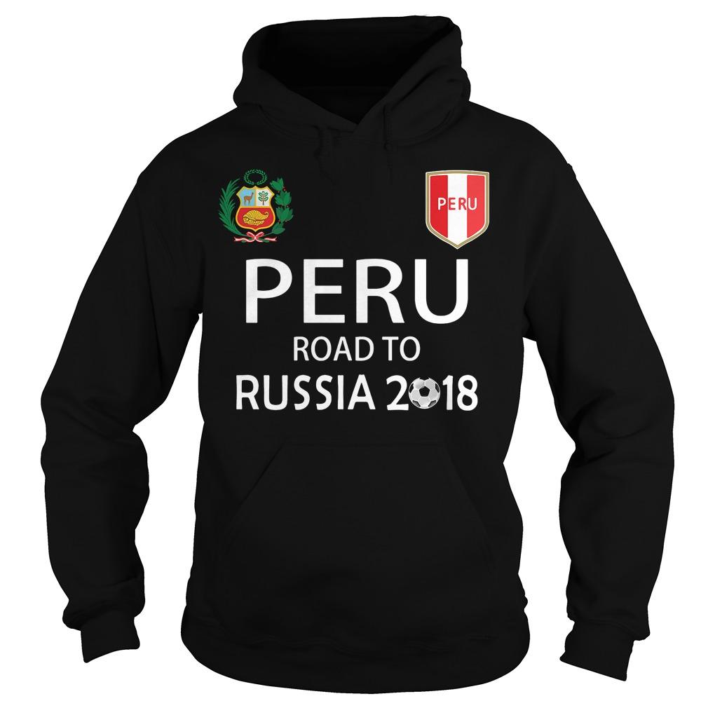 Peru Russia 2018 Soccer Hoodie