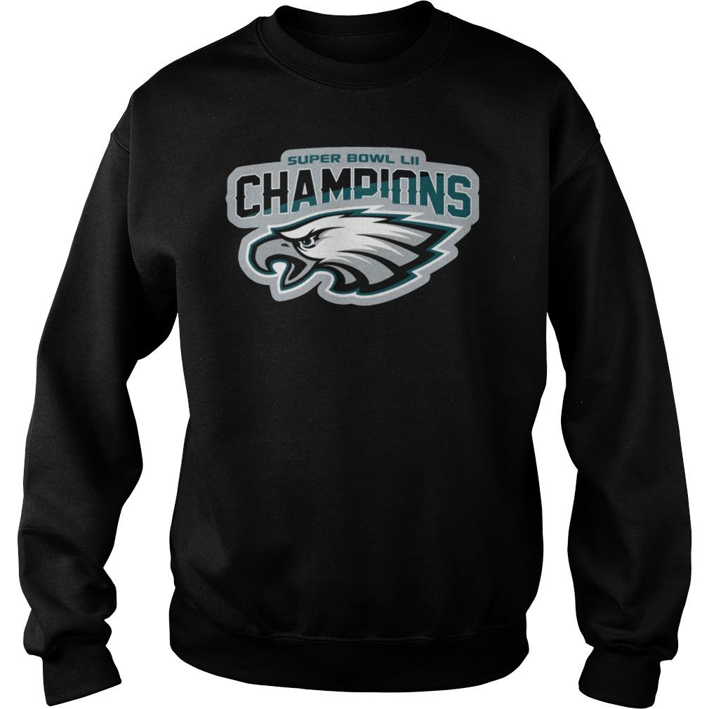 Philadelphia Eagles Champions Logo Sweater