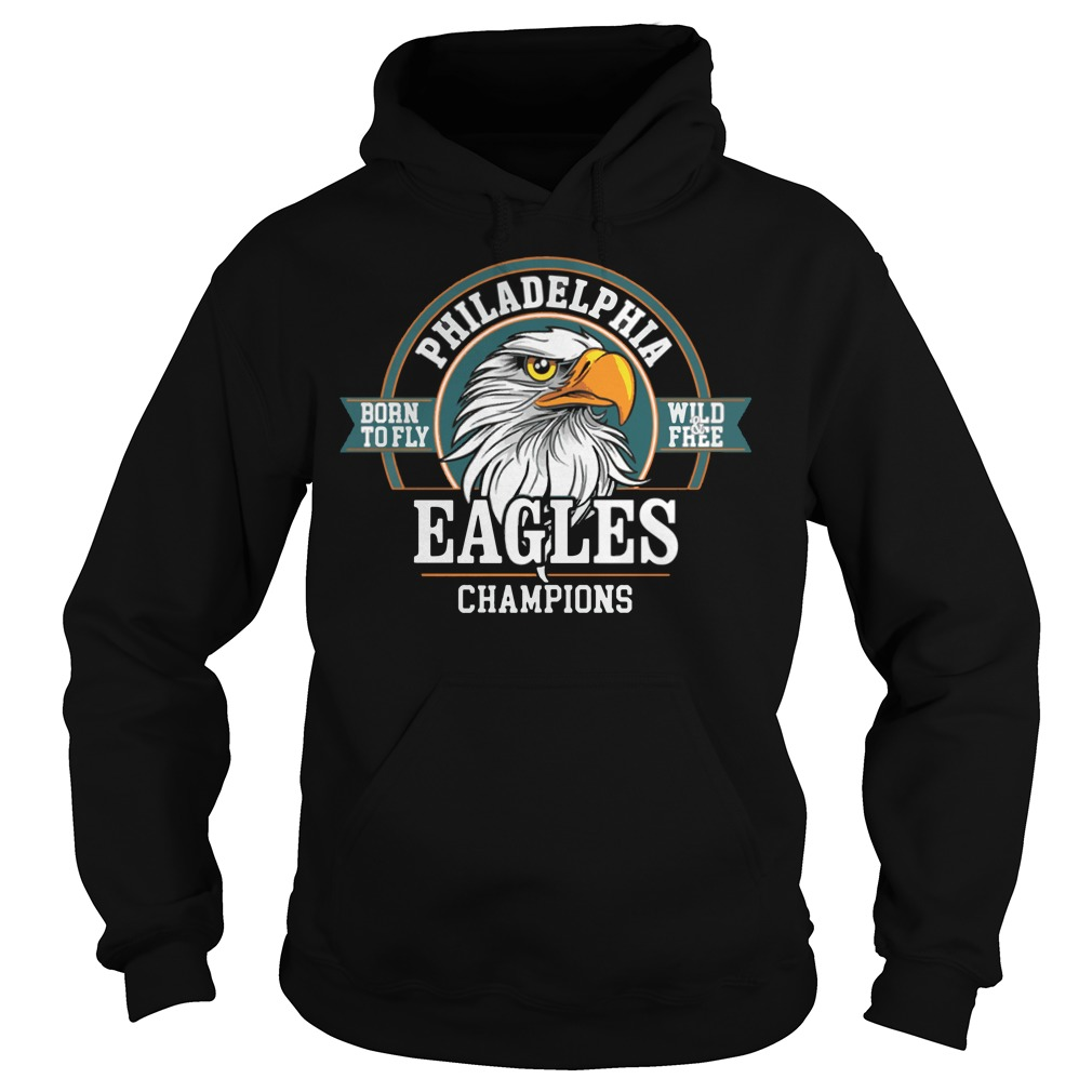 Philadelphia Eagles Champions Super Bowl Lii 2018 Hoodie