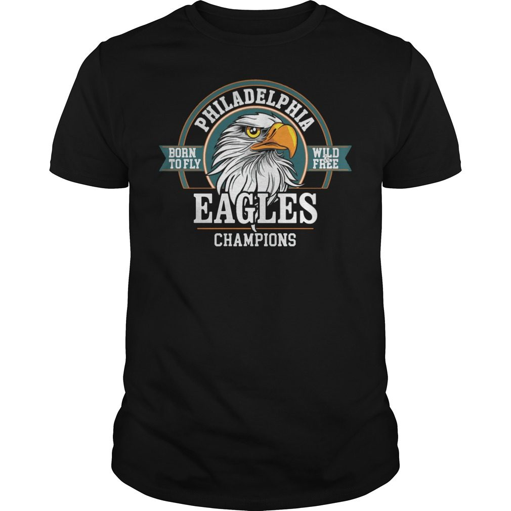 Philadelphia Eagles Champions Super Bowl Lii 2018 Shirt