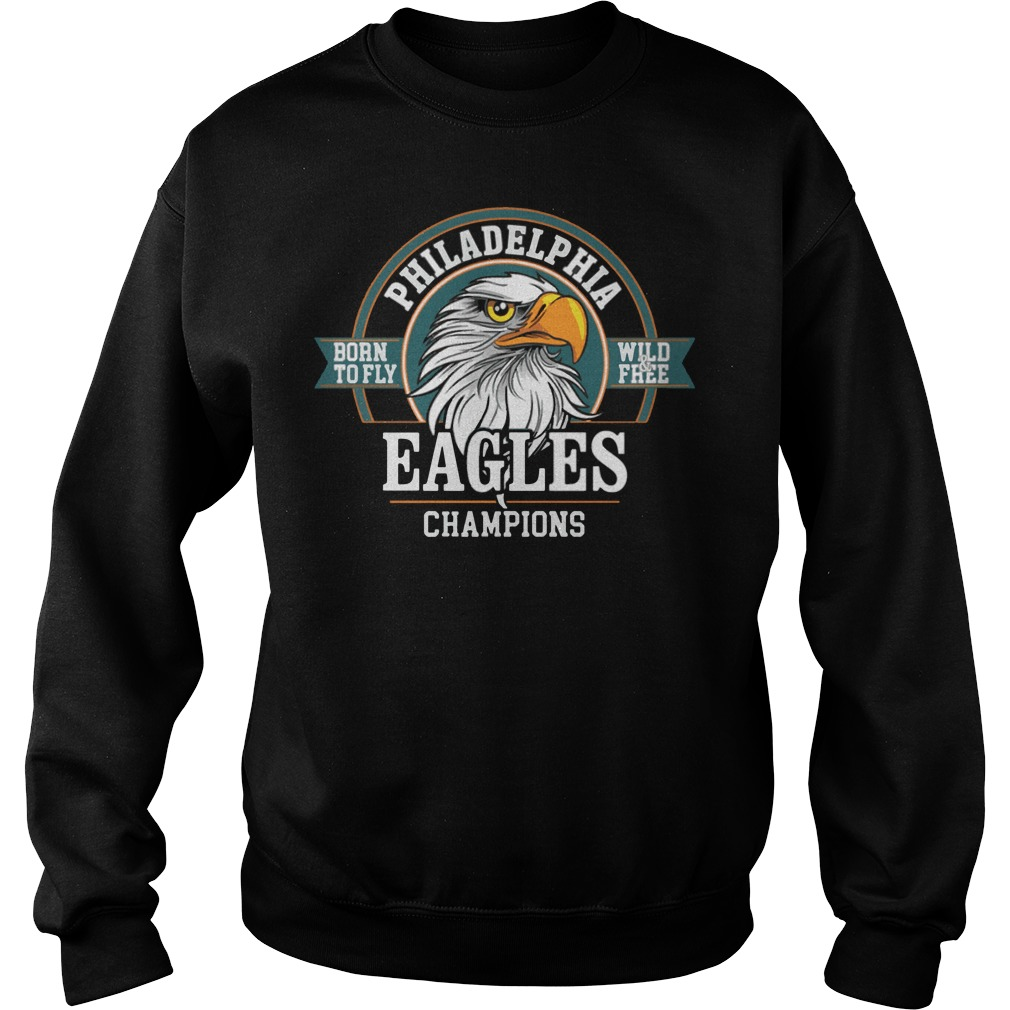 Philadelphia Eagles Champions Super Bowl Lii 2018 Sweater