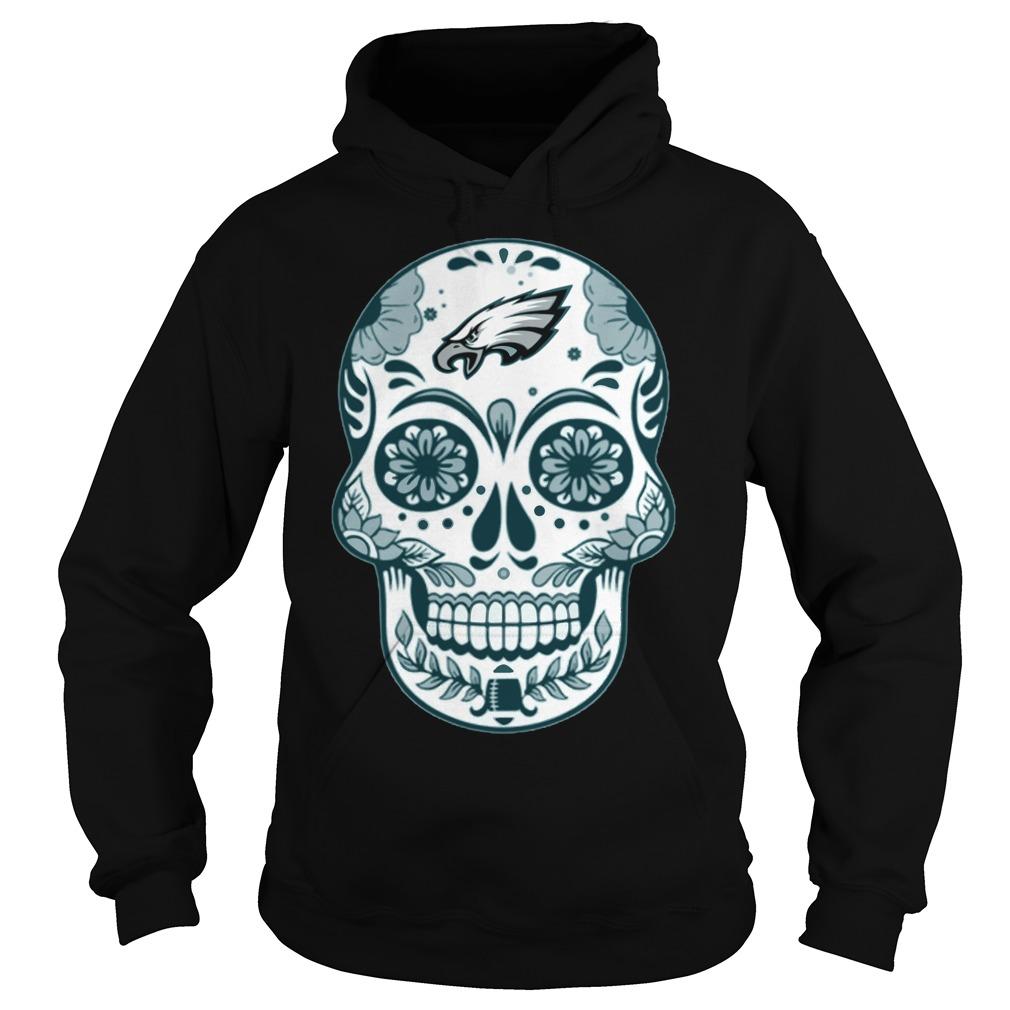 Philadelphia Eagles Skull Champions 2018 Hoodie