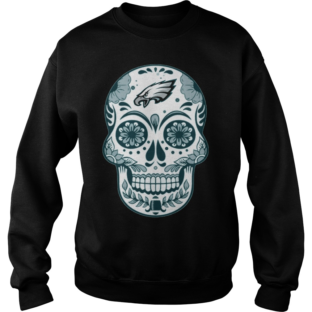Philadelphia Eagles Skull Champions 2018 Sweater