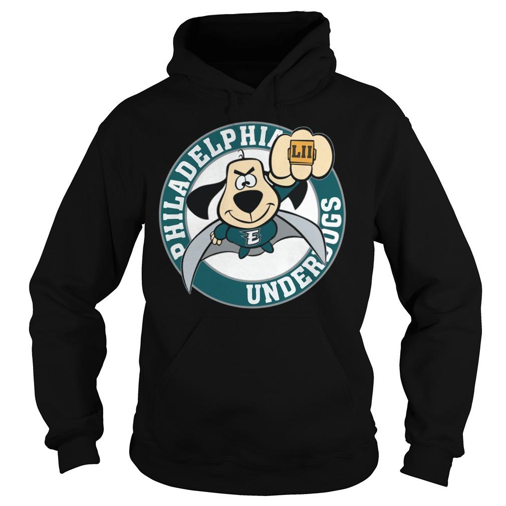 Philadelphia Eagles Underdog Super Bowl Lii Hoodie