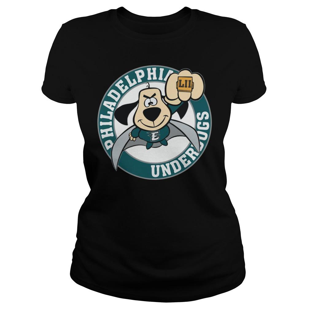 Philadelphia Eagles Underdog Super Bowl Lii Ladies Tee