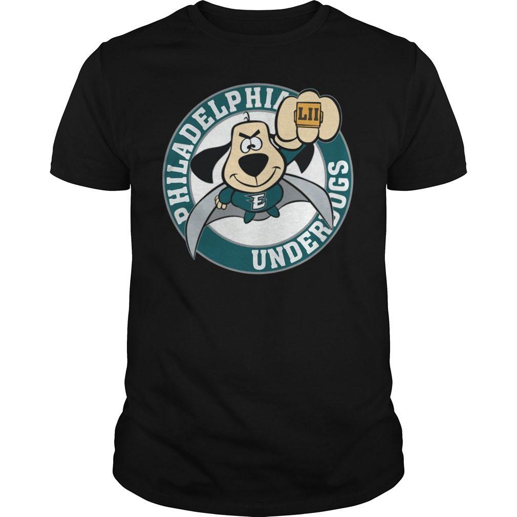 Philadelphia Eagles Underdog Super Bowl Lii Shirt