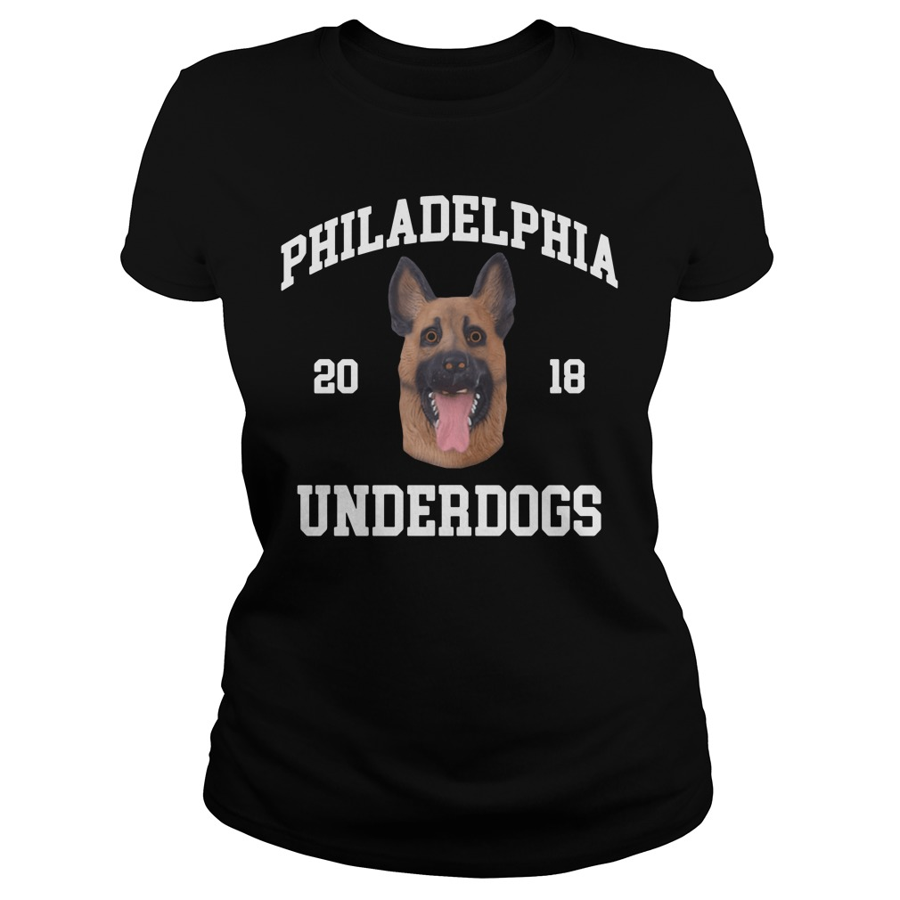 Philadelphia Eagles Underdogs Champions 2018 Ladies Tee