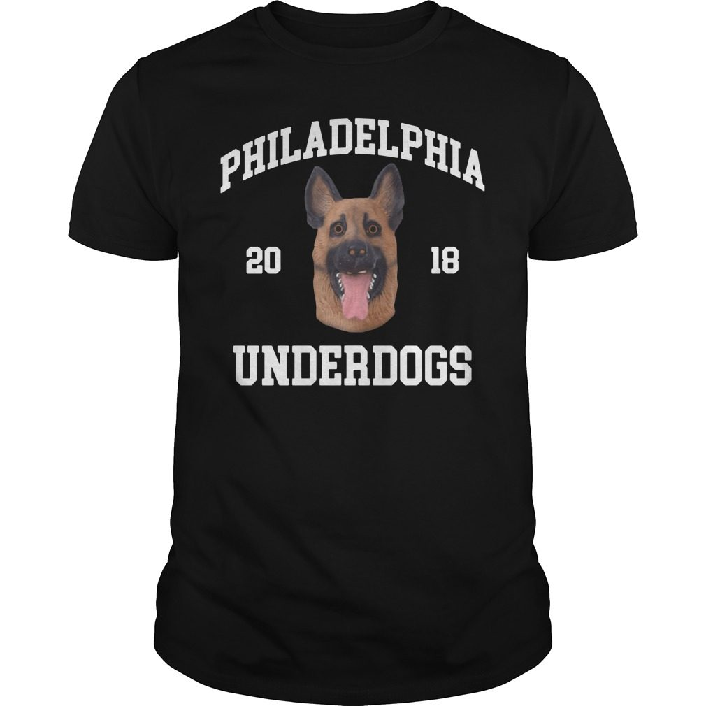 Philadelphia Eagles Underdogs Champions 2018 Shirt