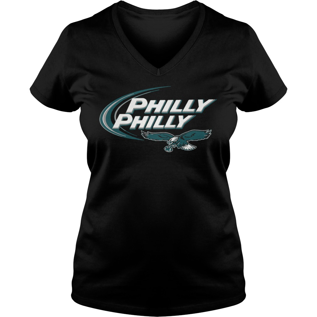 Philly Philly Philadelphia Eagles Dilly Dilly Super Bowl 2018 V-neck t-shirt