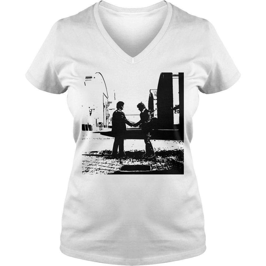 Pink Floyd Wish Black V-neck t-shirt