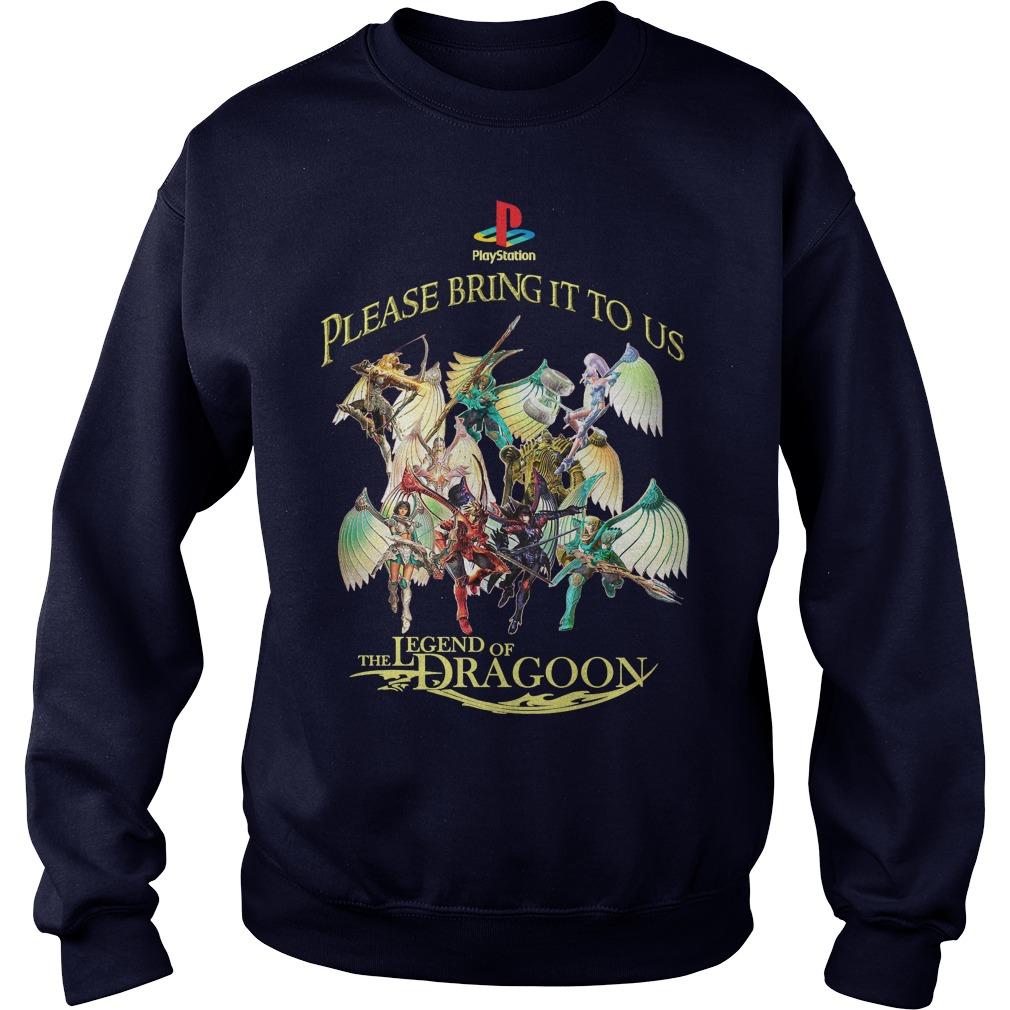 Please Bring Us Legend Dragoon Sweater