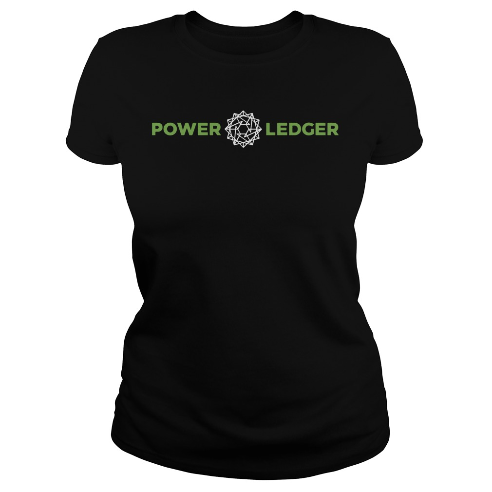 Power Ledger Official Merchandise Powerledger Ladies Tee