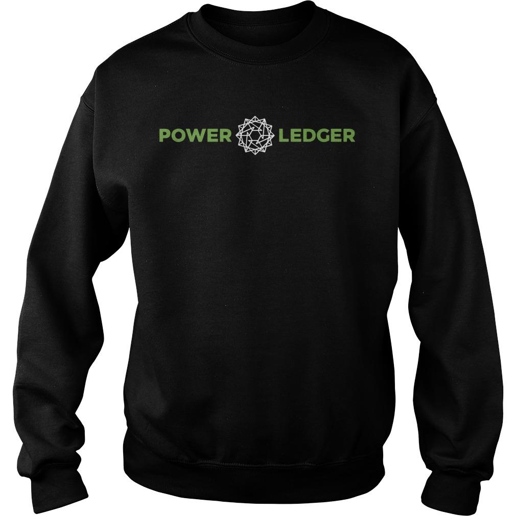 Power Ledger Official Merchandise Powerledger Sweater