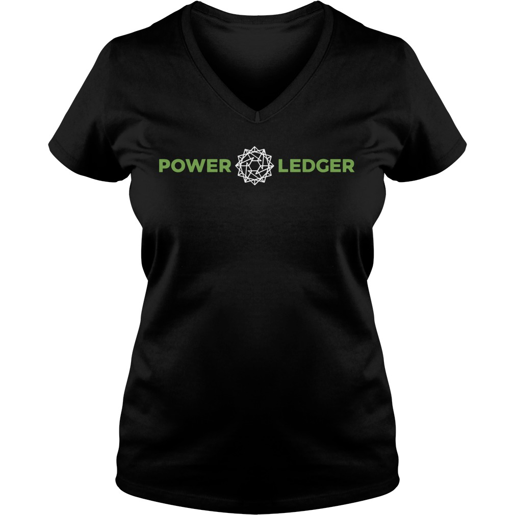 Power Ledger Official Merchandise Powerledger V Neck T Shirt