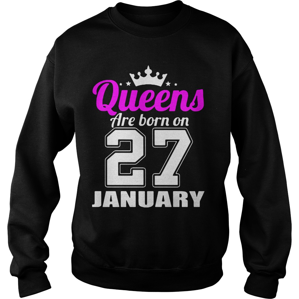 Queens Born 27 January Sweater