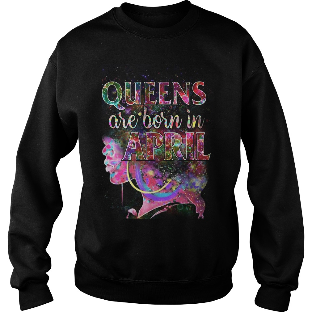 Queens Born April Sweater