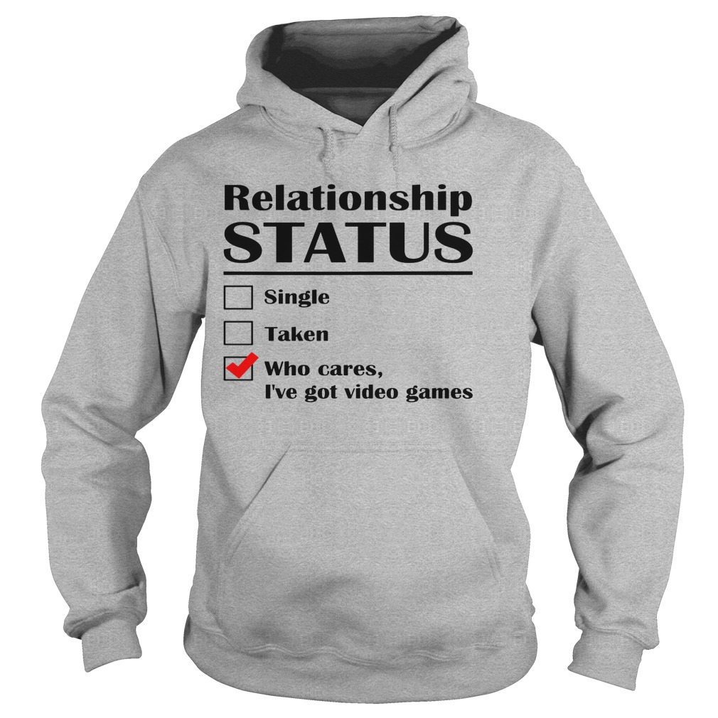 Relationship Status Single Taken Cares Ive Got Anime Hoodie