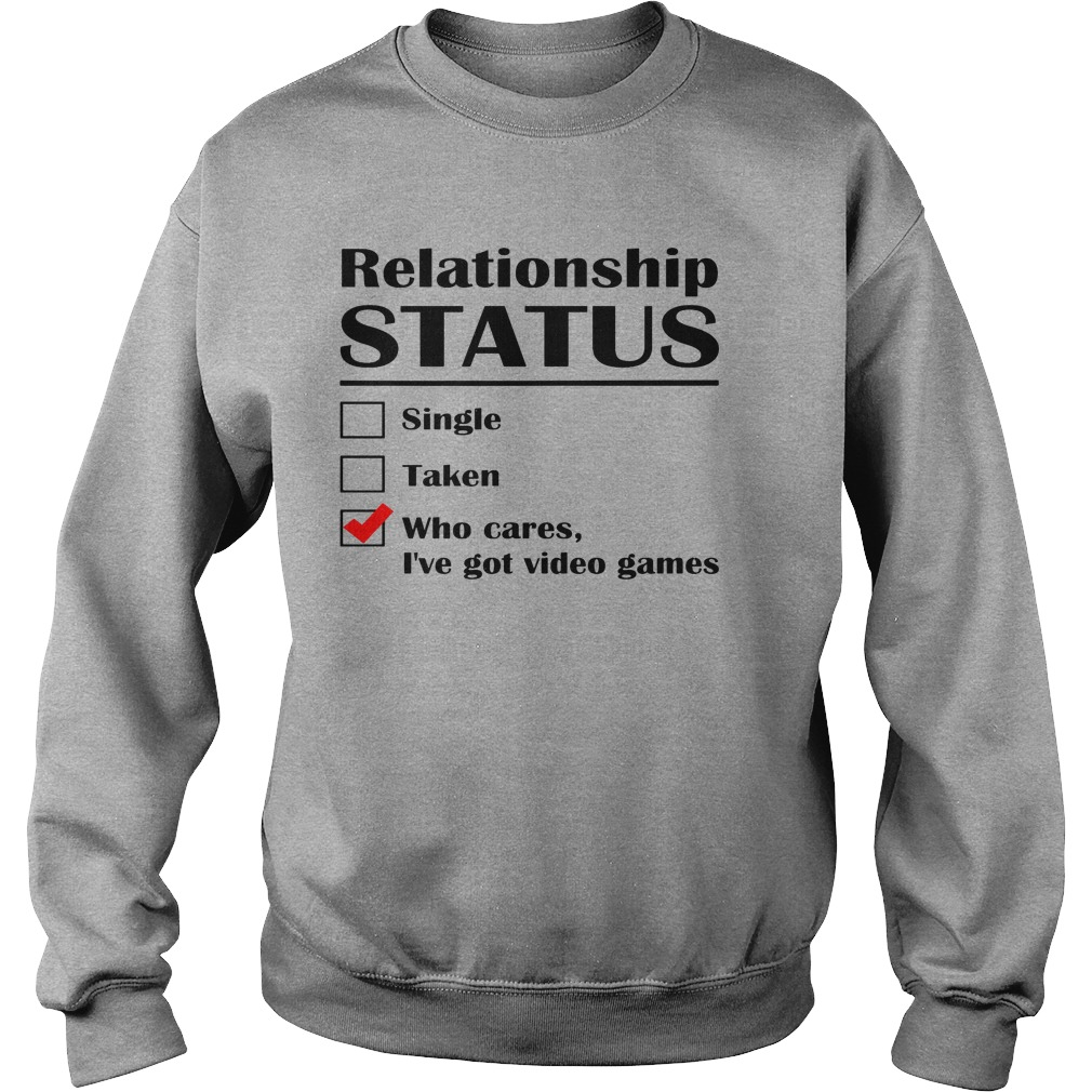 Relationship Status Single Taken Cares Ive Got Anime Sweater