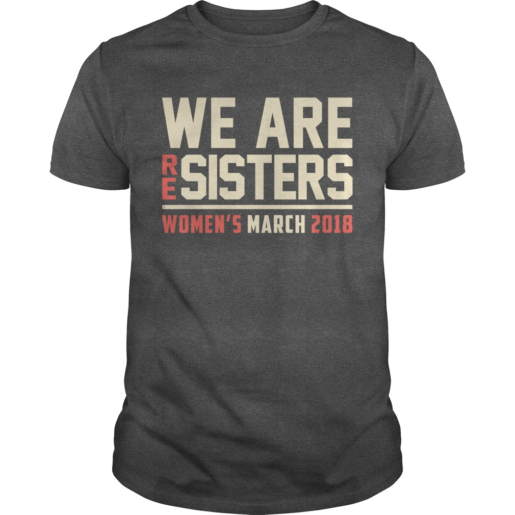 Resisters Womens March 2018 Guys Shirt