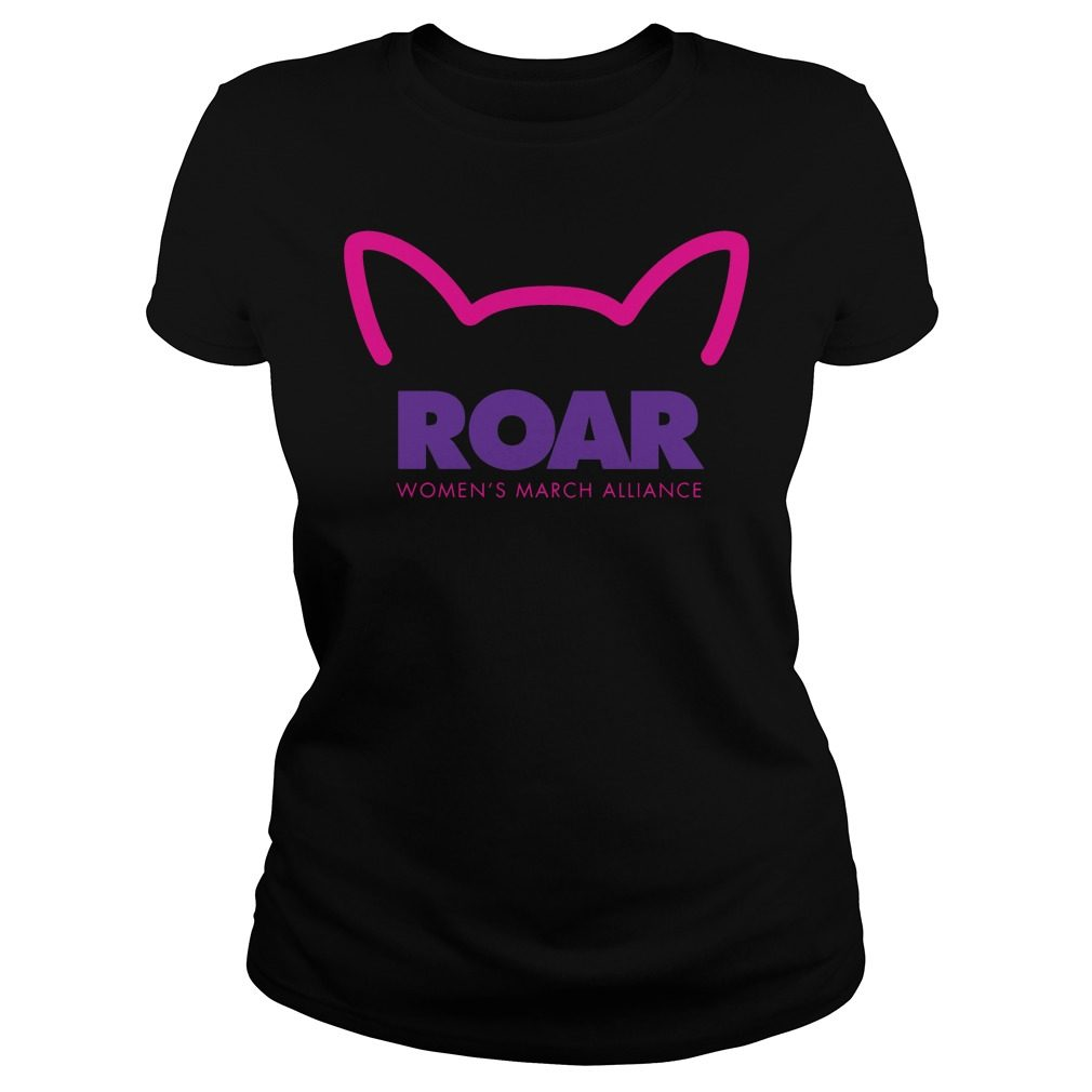Roar Womens March Alliance 2018 Ladies Tee