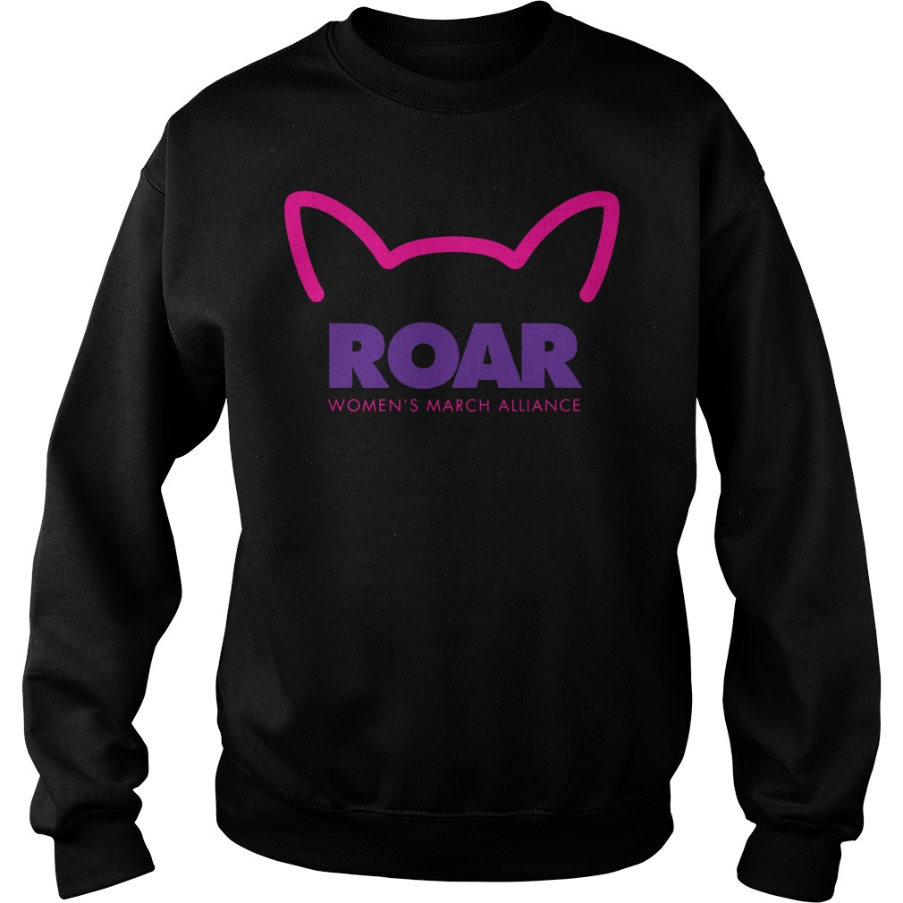 Roar Womens March Alliance 2018 Sweater