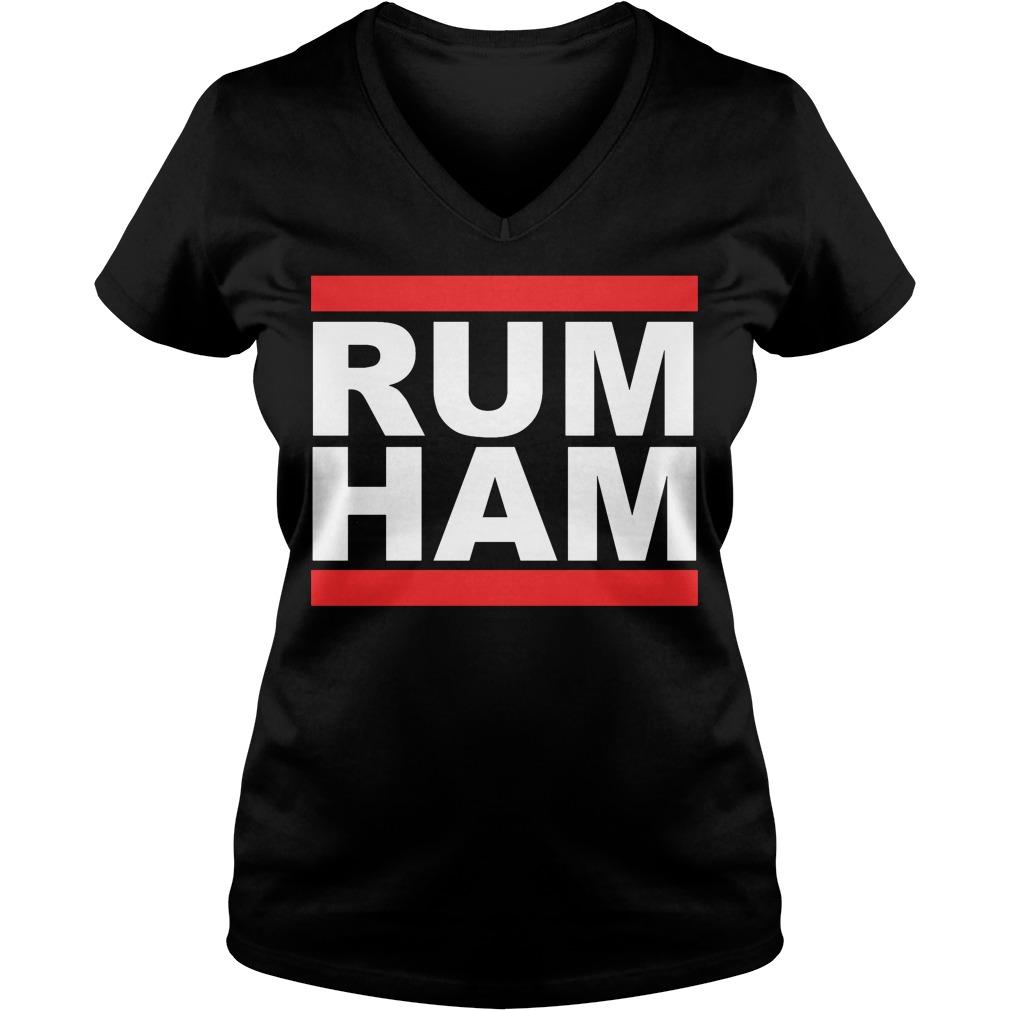 Rum Ham Always Sunny Philadelphia V-neck t-shirt