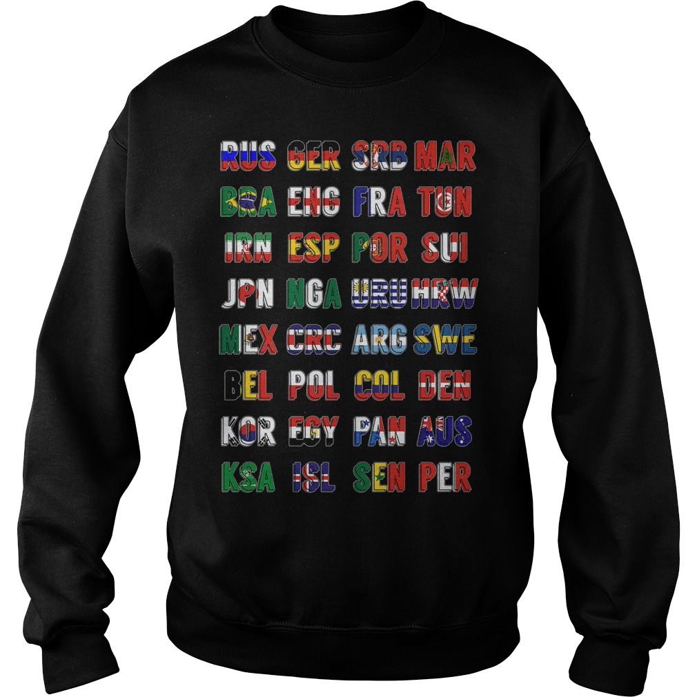 Russia 2018 Qualified Teams Sweater