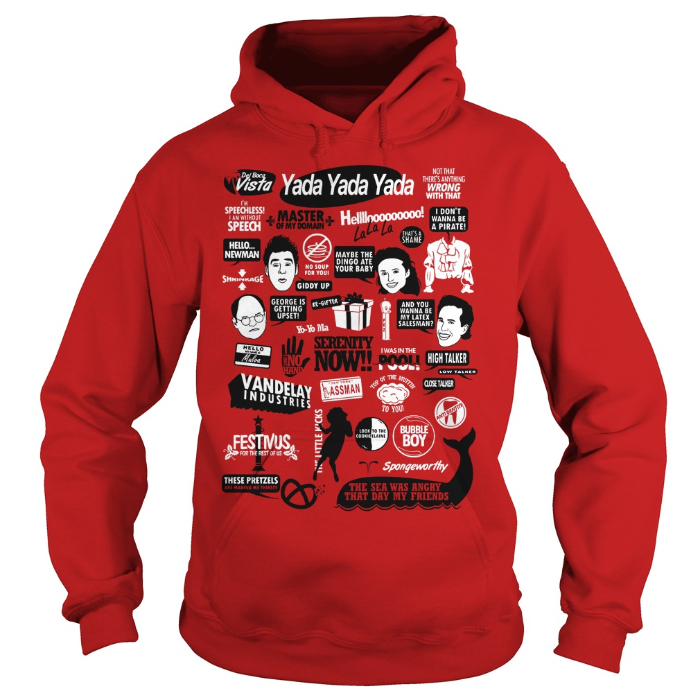 Seinfeld Quotes Hoodie