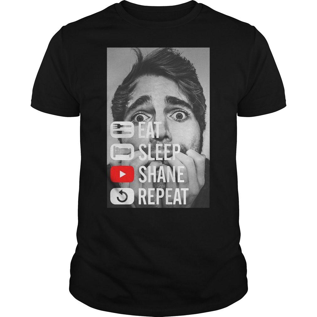 Shane Dawson Eat Sleep Shane Repeat Shirt