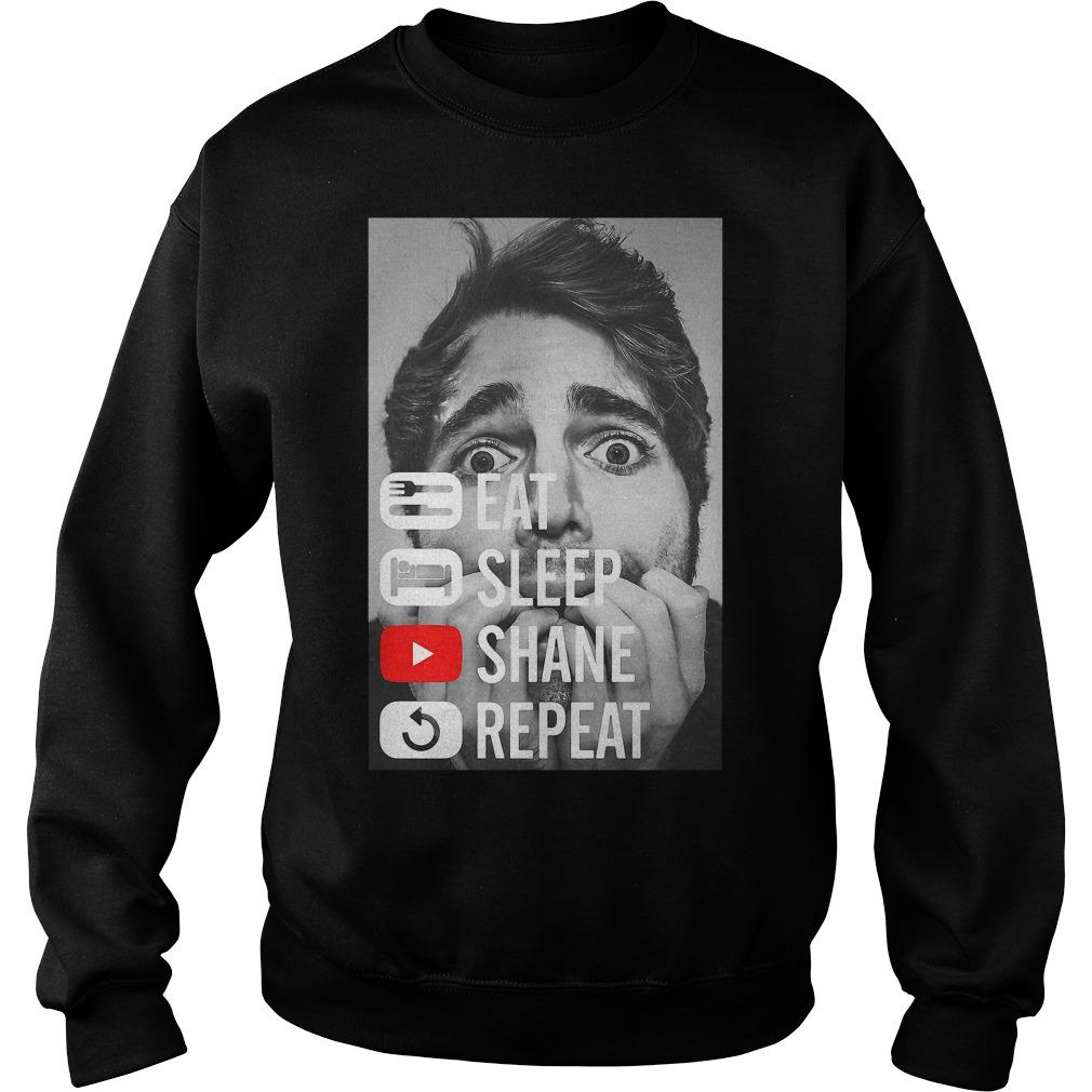 Shane Dawson Eat Sleep Shane Repeat Sweater