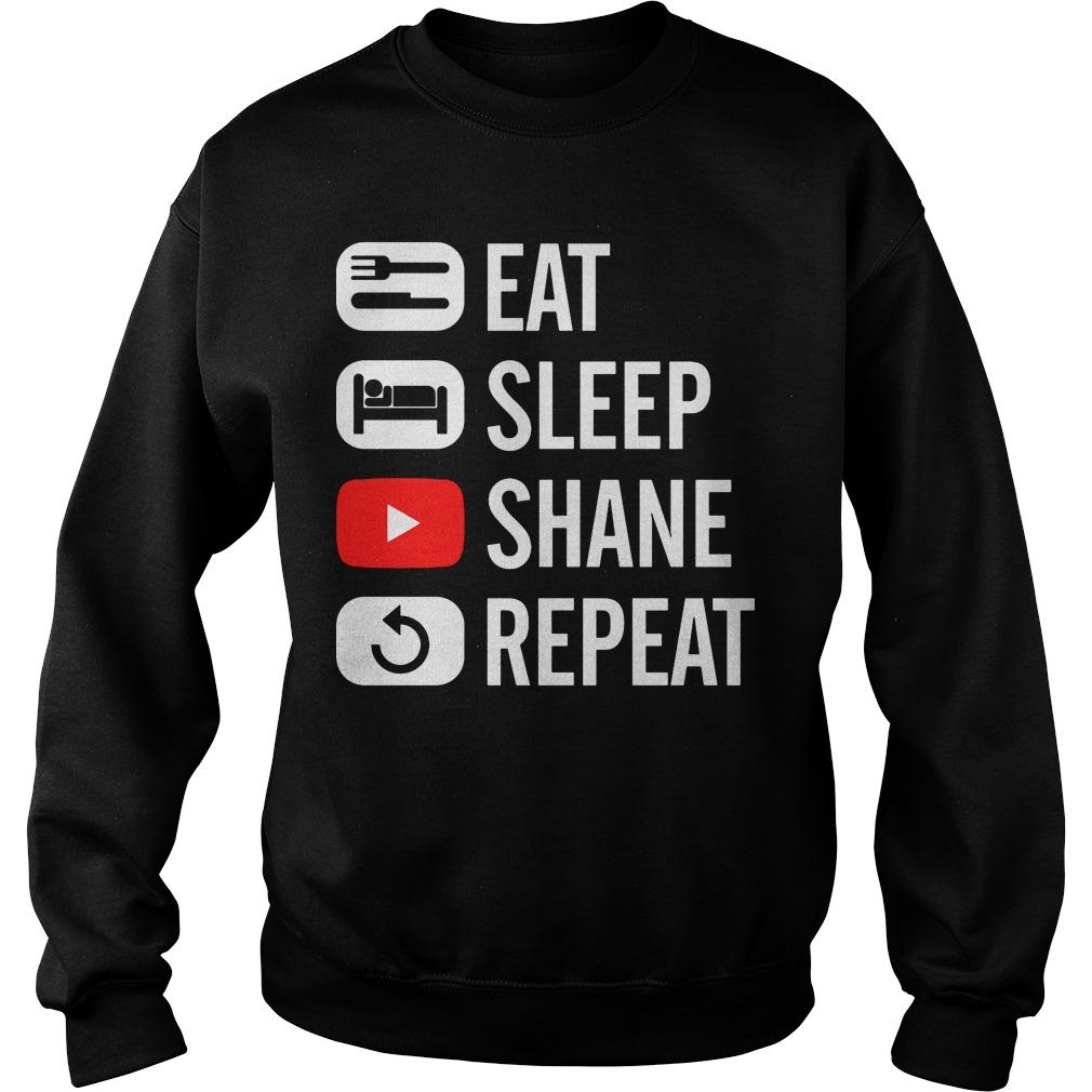 Shane Dawson Eat Sleep Sweater